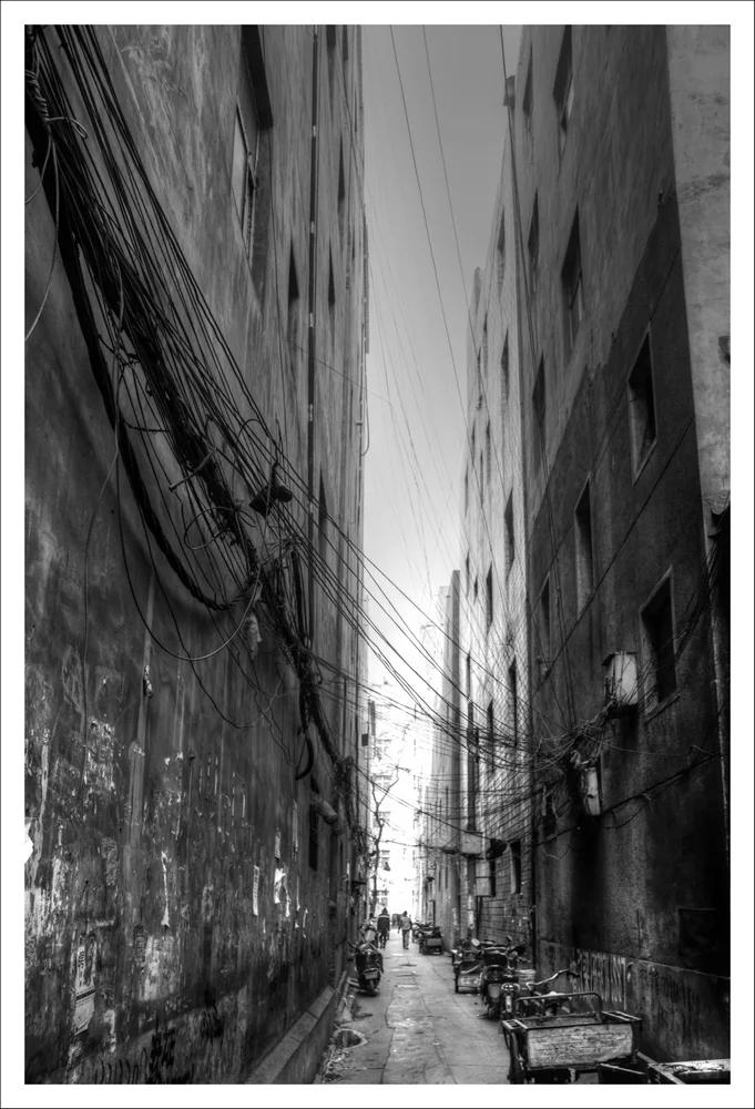 城中村的小巷子