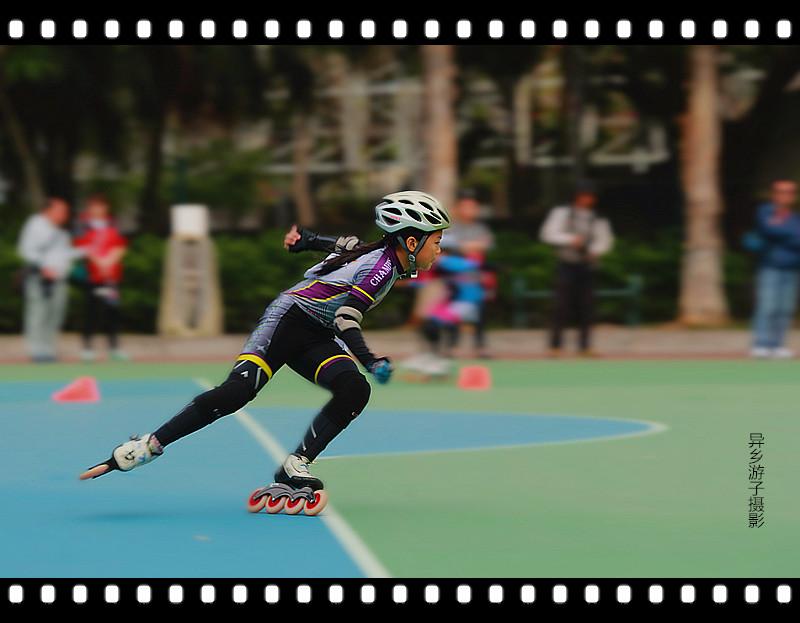 香港___速度滚轴溜冰公開赛<三>原创