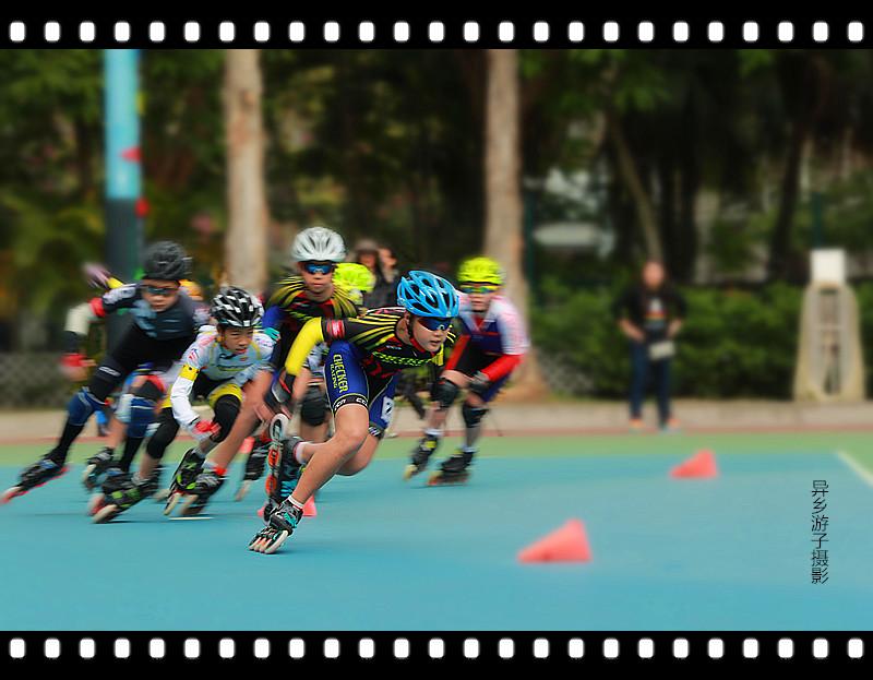 香港____速度滚轴溜冰公開赛<四>原创