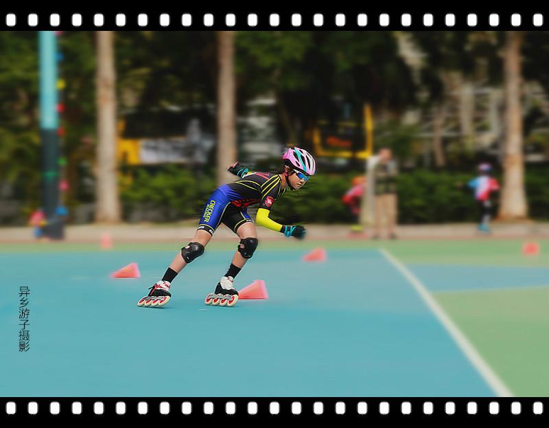 香港___速度滚轴溜冰公開赛<五>原创