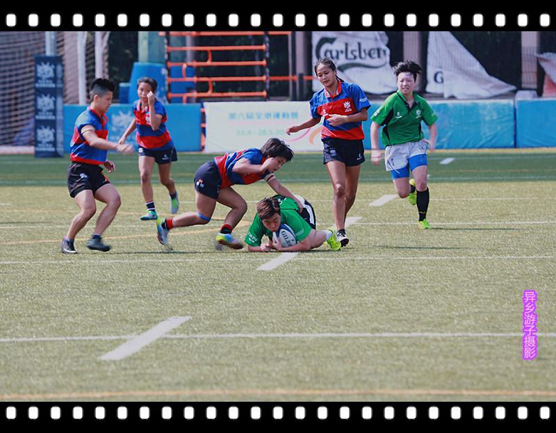 香港全运会____女子欖球赛<二>原创
