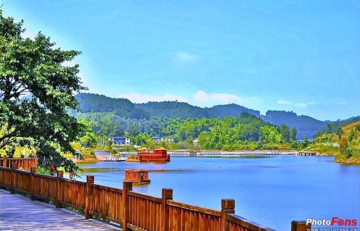 【自然风光】青山湖(7)