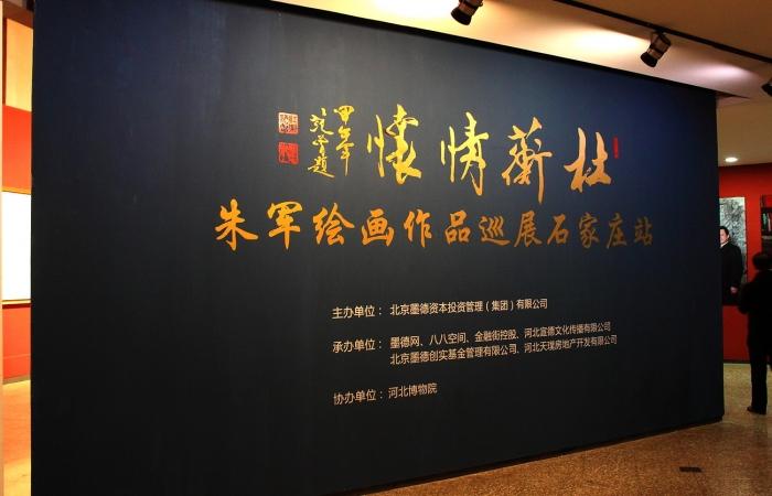 《杜蘅情怀—朱军绘画作品巡展》