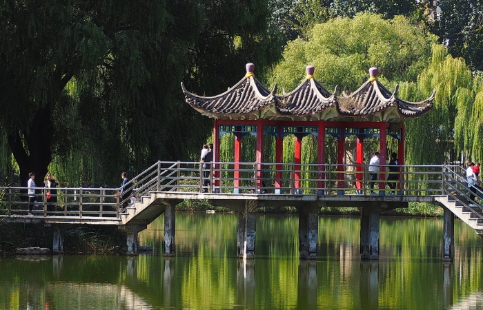 秋日·长安公园