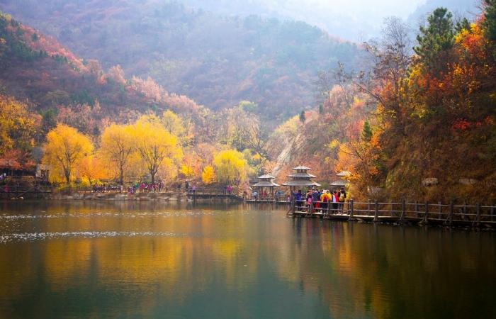 美丽中国行系列(六十五)——秋染九如山