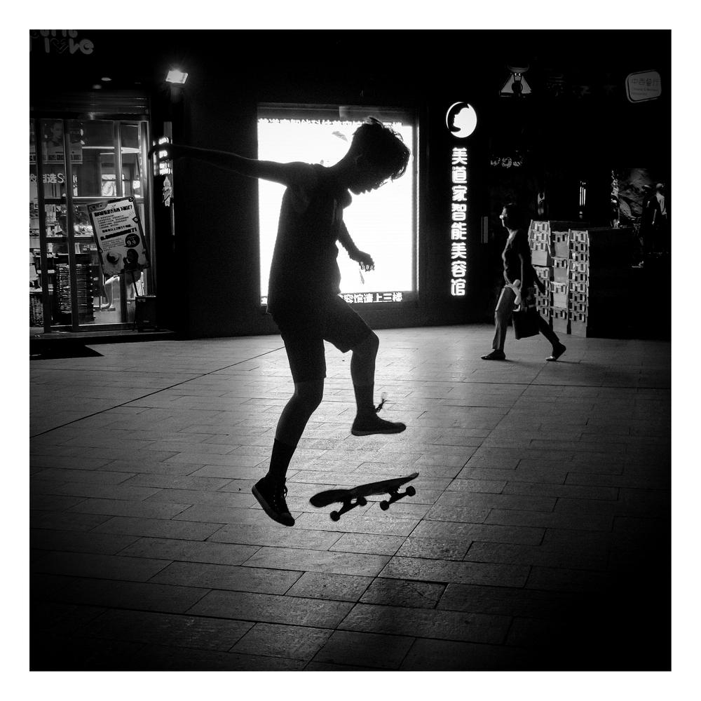 街拍54(滑板少年)