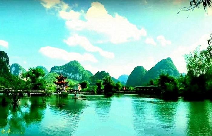 桂林山水美如画