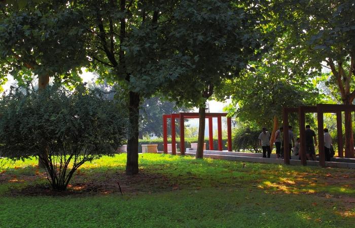 初秋·水上公园