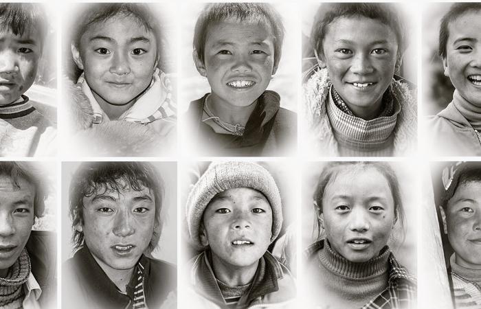 藏族人像100——忘不了你的眼睛