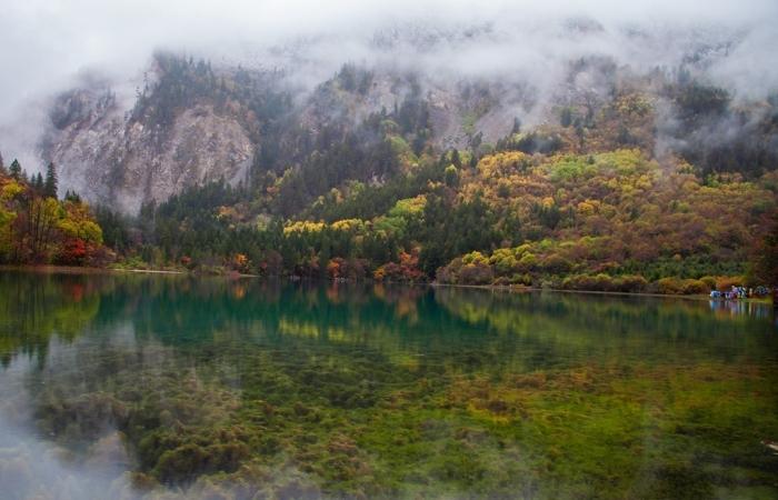 秋天的九寨沟