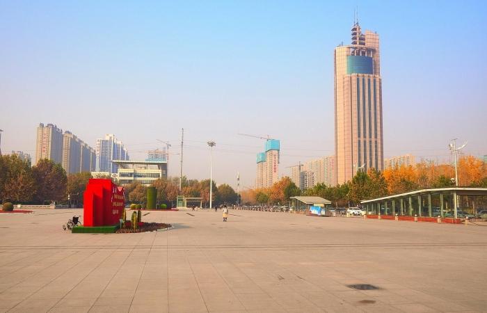 深秋·火炬广场