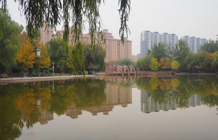 深秋·绿洲公园