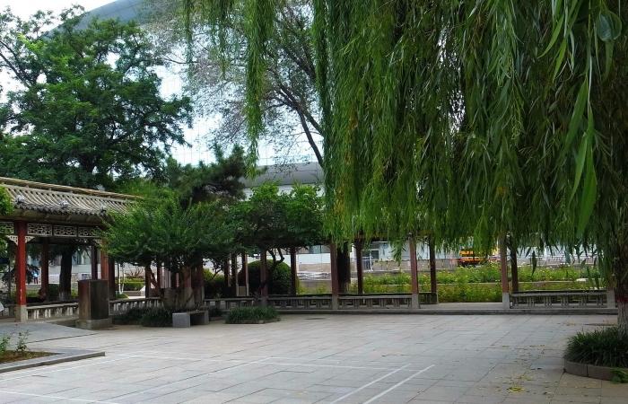 初秋的长安公园