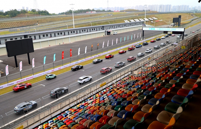 2021年中国新能源汽车拉力锦标赛精彩瞬间