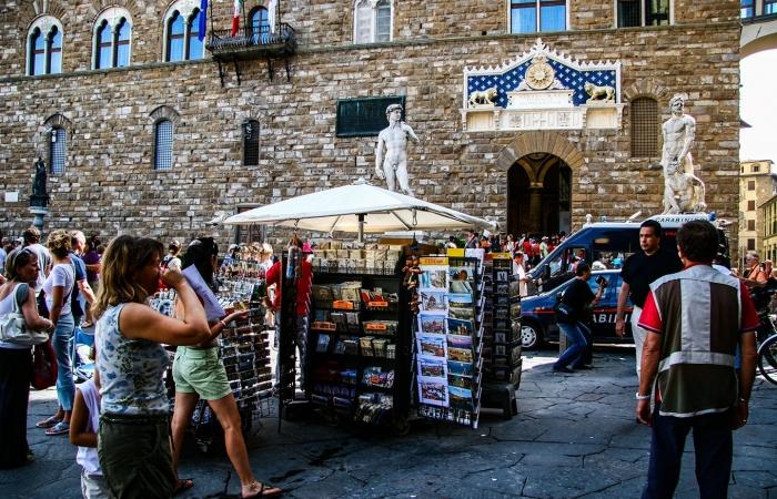 领主广场(Piazza della Signoria)-佛罗伦萨掠影-2