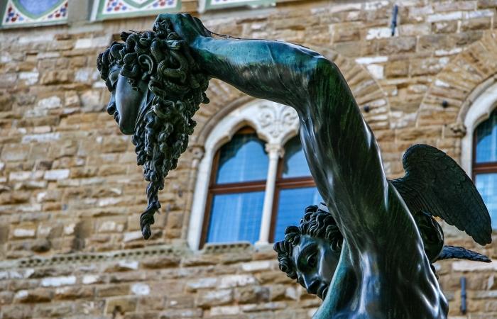 领主广场部分雕塑-佛罗伦萨掠影-5