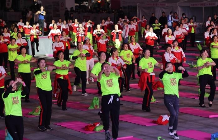 """""""湘辣马甲线""""2021湖南省女子健身操大赛"""