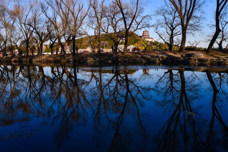 入冬后的颐和园