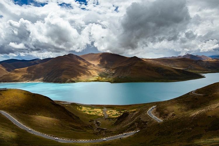 美丽西藏--羊湖雍错