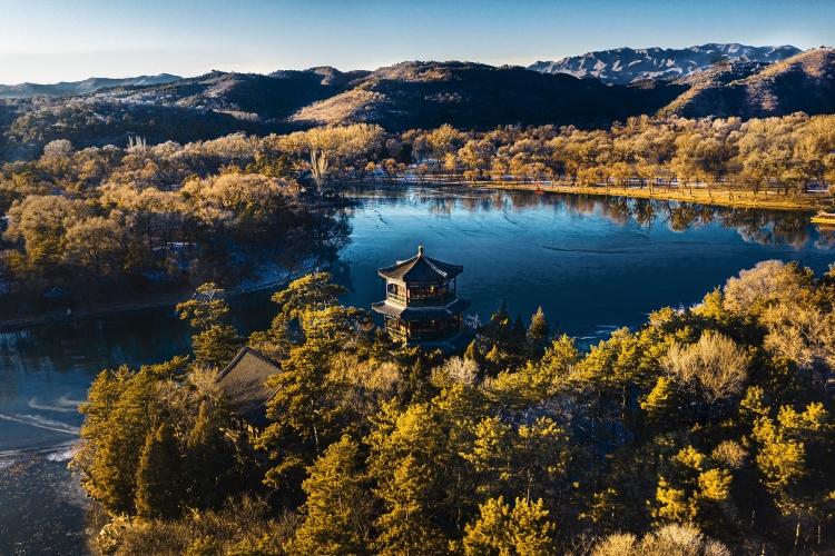 山庄冬日印象