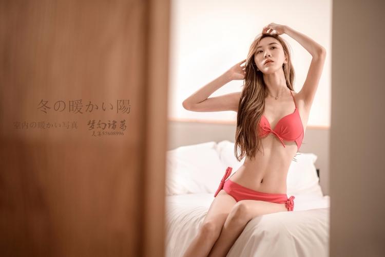 【梦幻美拍】美女模特比基尼*私房人像拍摄