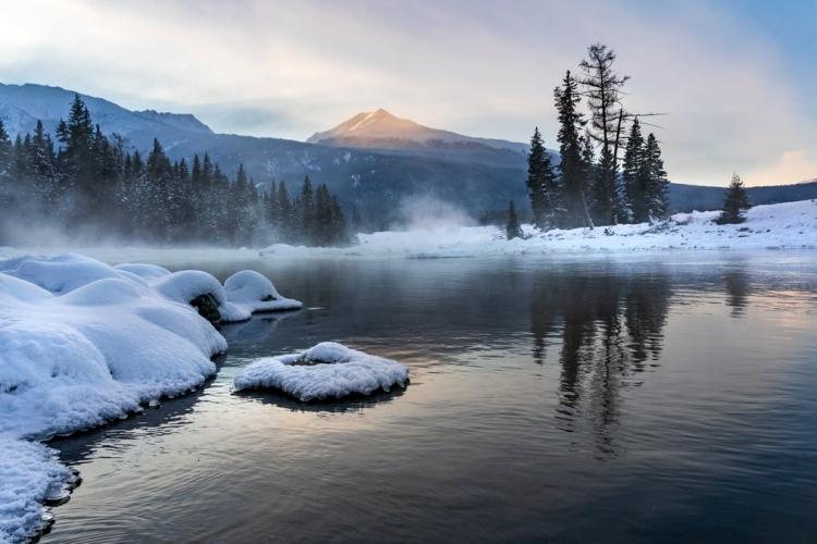 《北疆冬韵》冰雪喀纳斯(三)