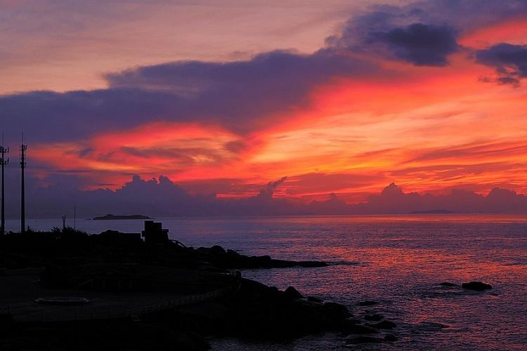 遮浪半岛 红海湾